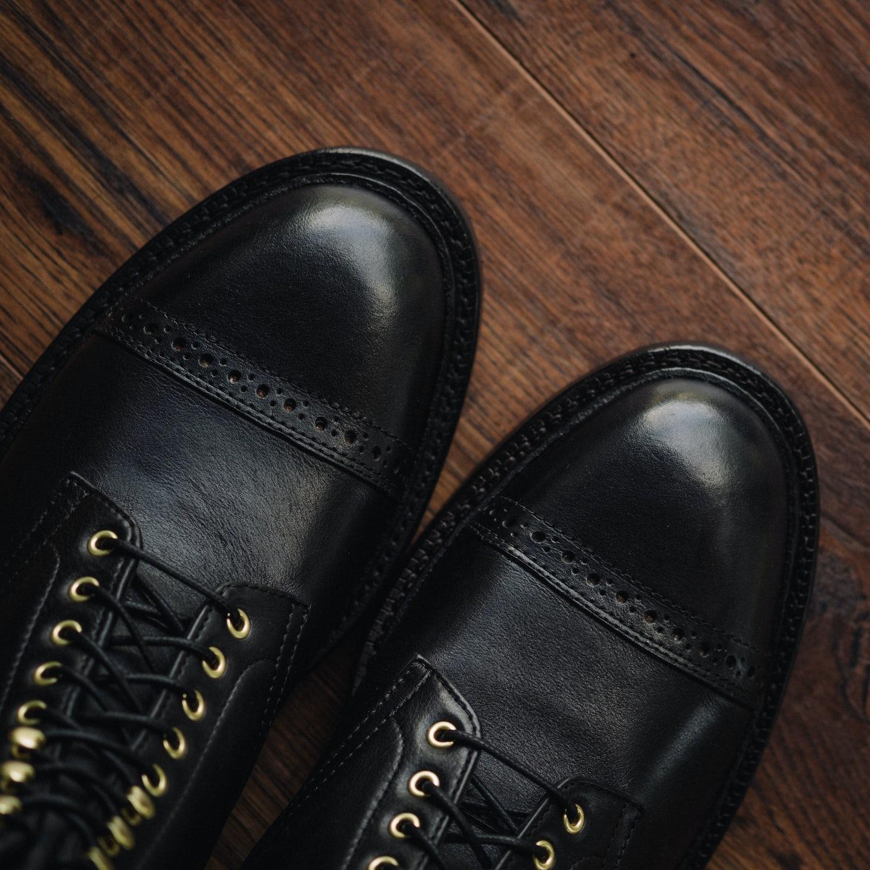 Ink Black Classic Calf Lakeshore Jump Boot - Feature Image
