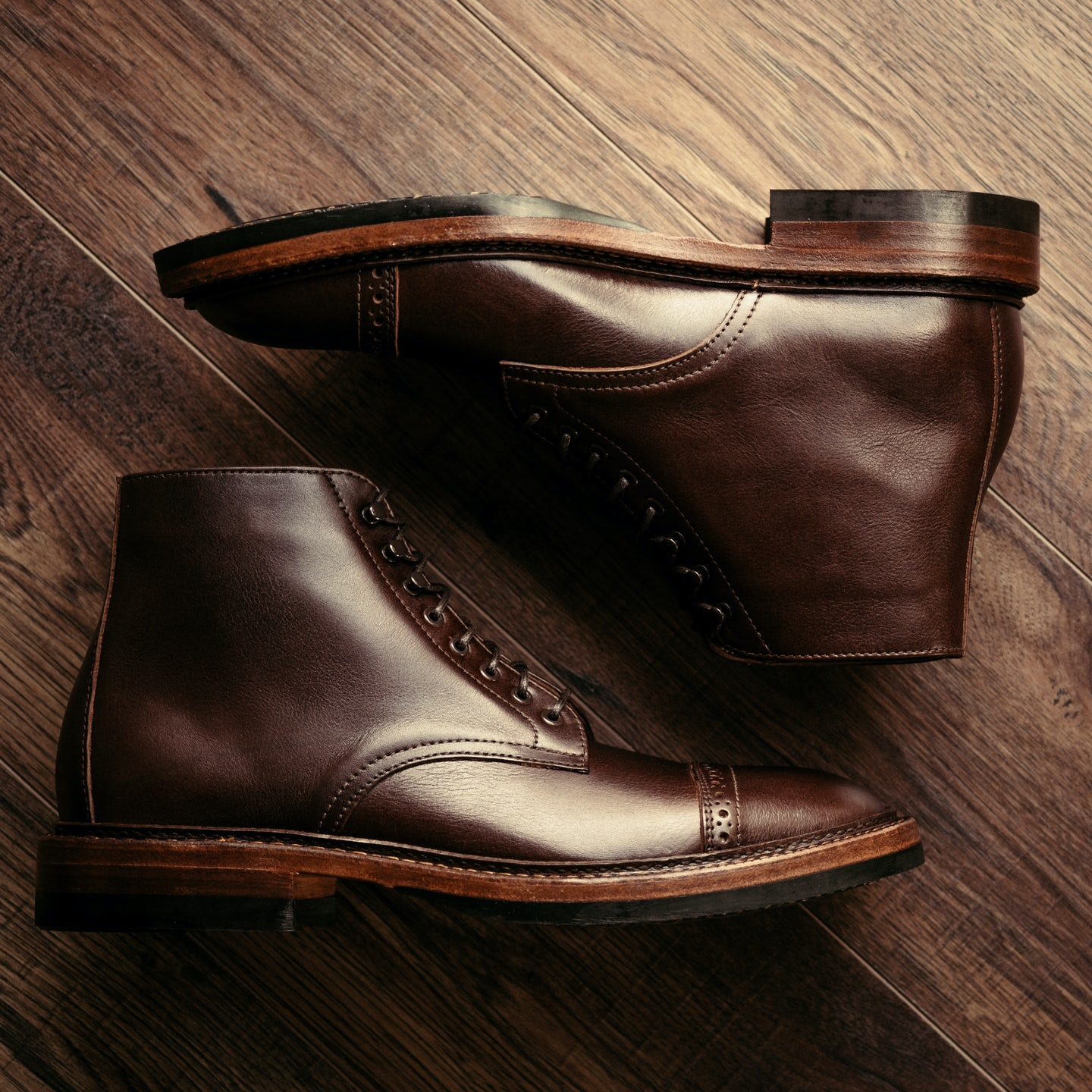 Polo Brown Classic Calf Lakeshore Jump Boot - Feature Image