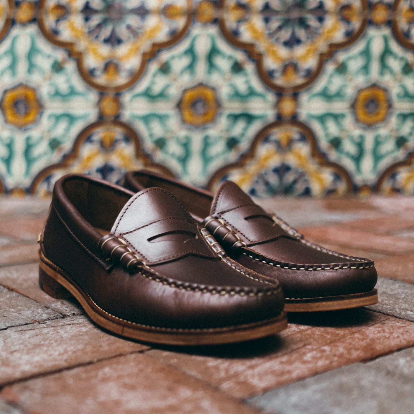 Brown Chromexcel Beefroll Penny Loafer - Feature Image