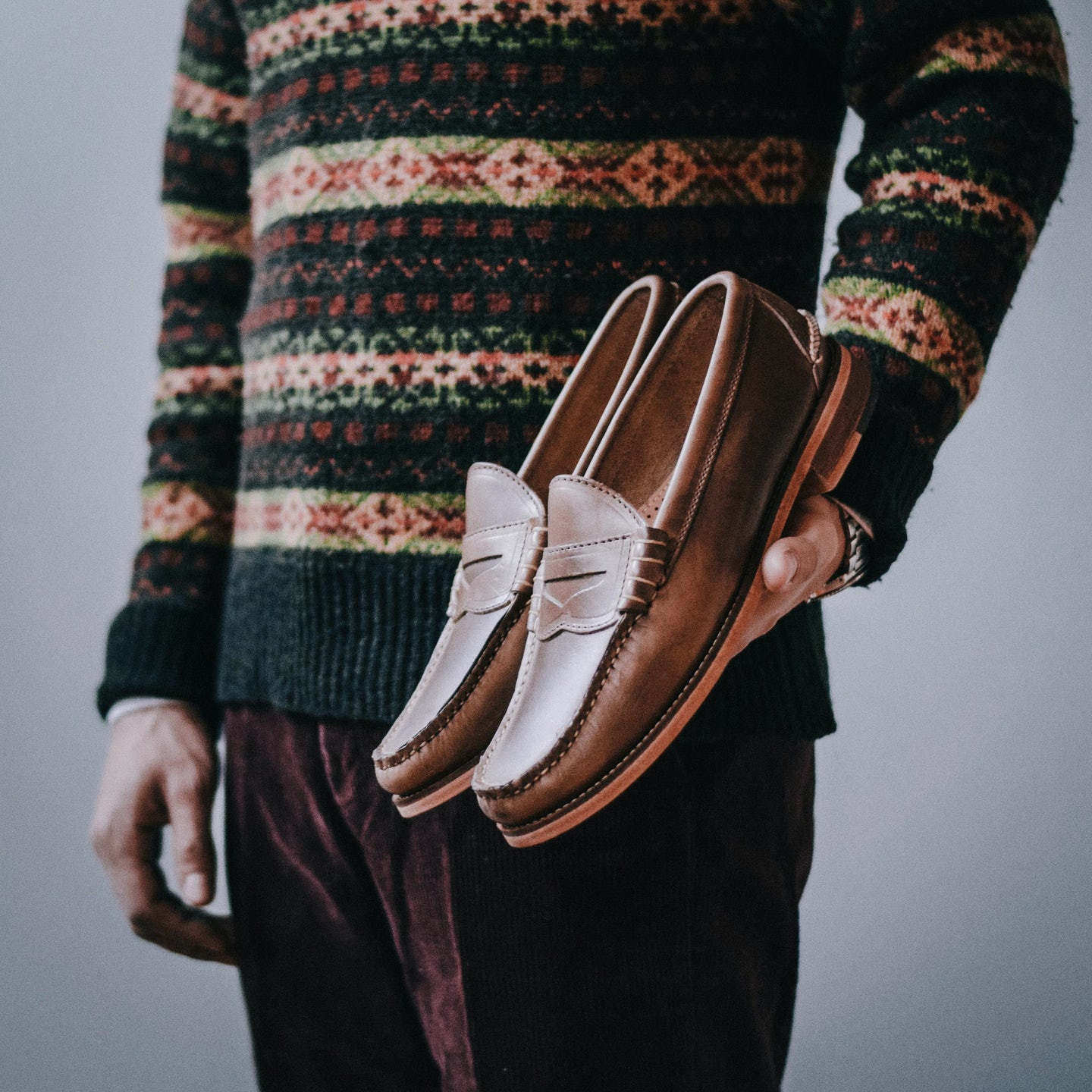 Natural Chromexcel Beefroll Penny Loafer - Feature Image