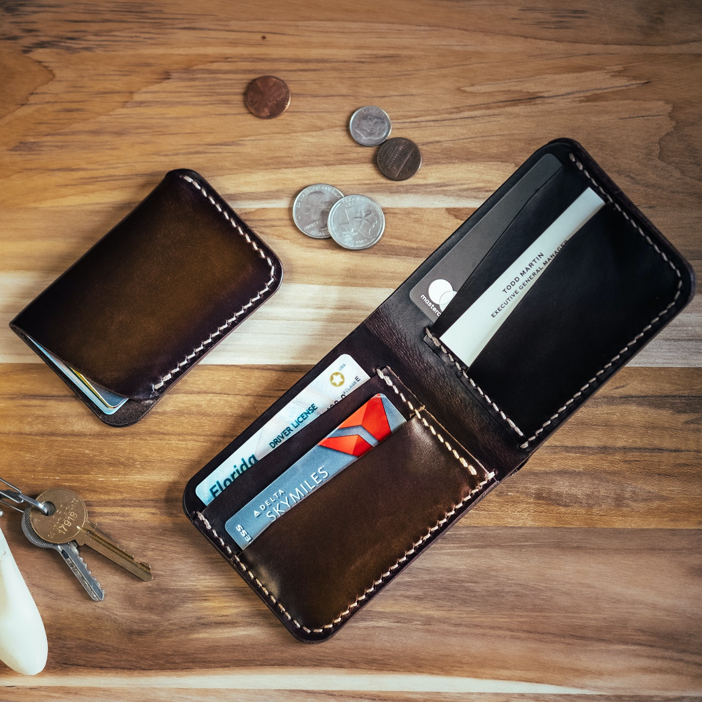 Brown Chromexcel Bifold Wallet - Feature Image
