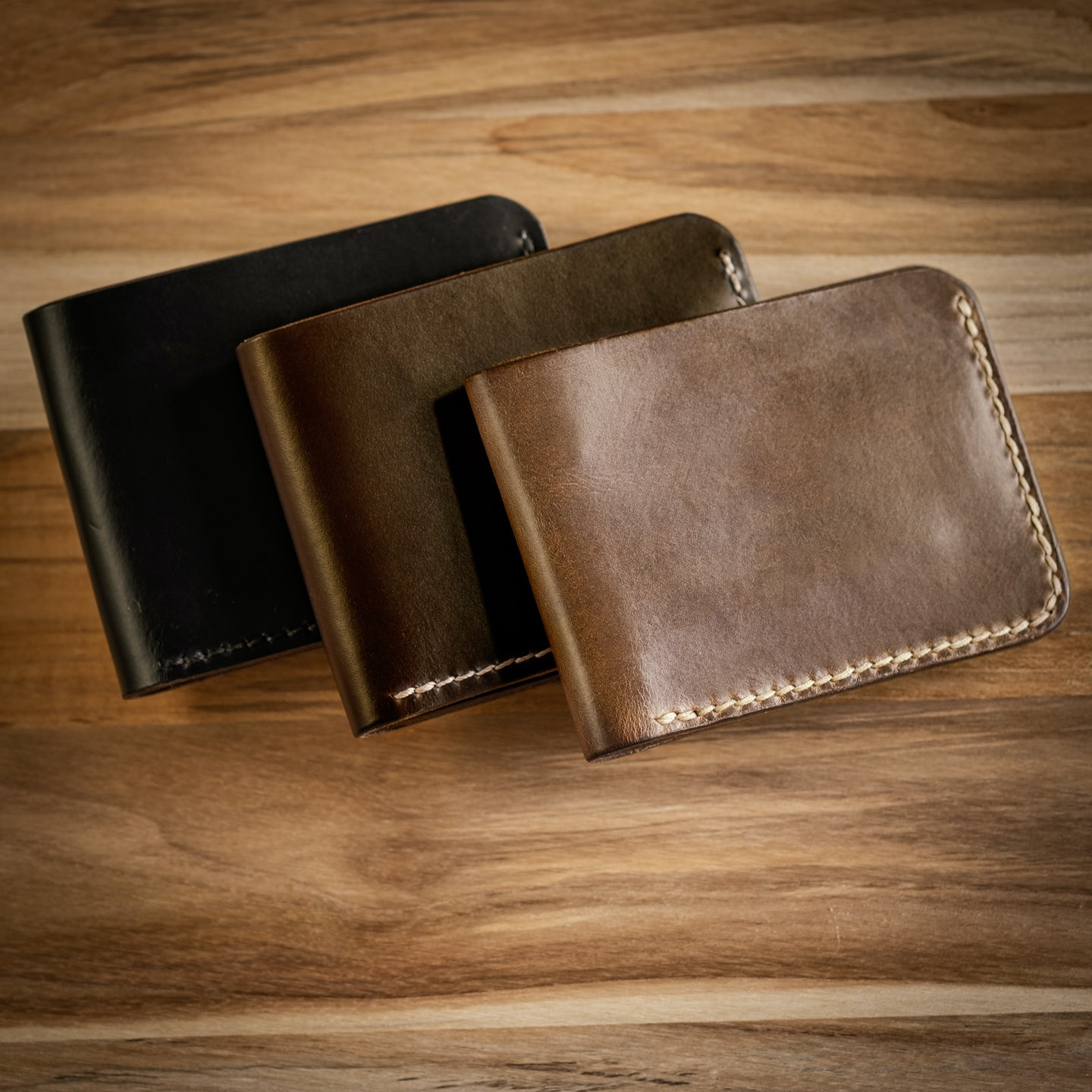 Natural Chromexcel Bifold Wallet - Feature Image