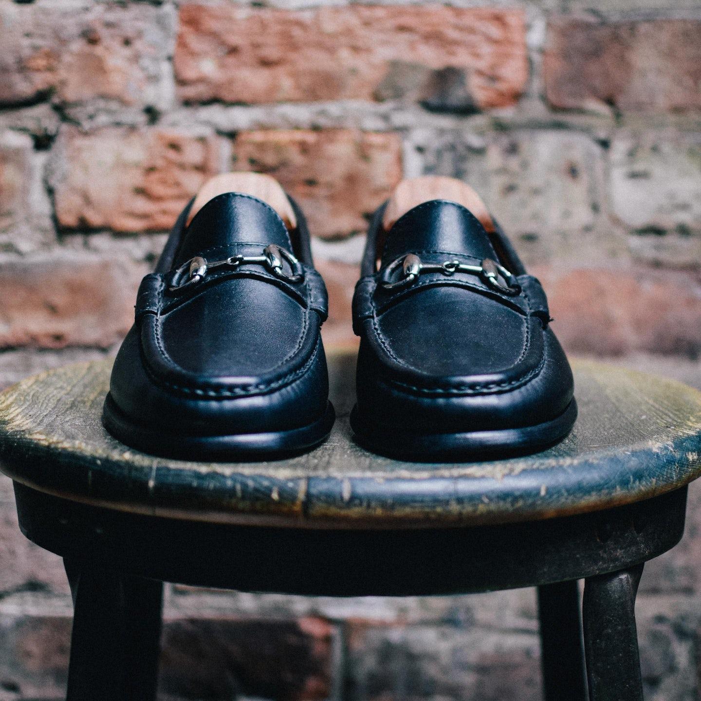 Black Calfskin Bit Loafer - Feature Image
