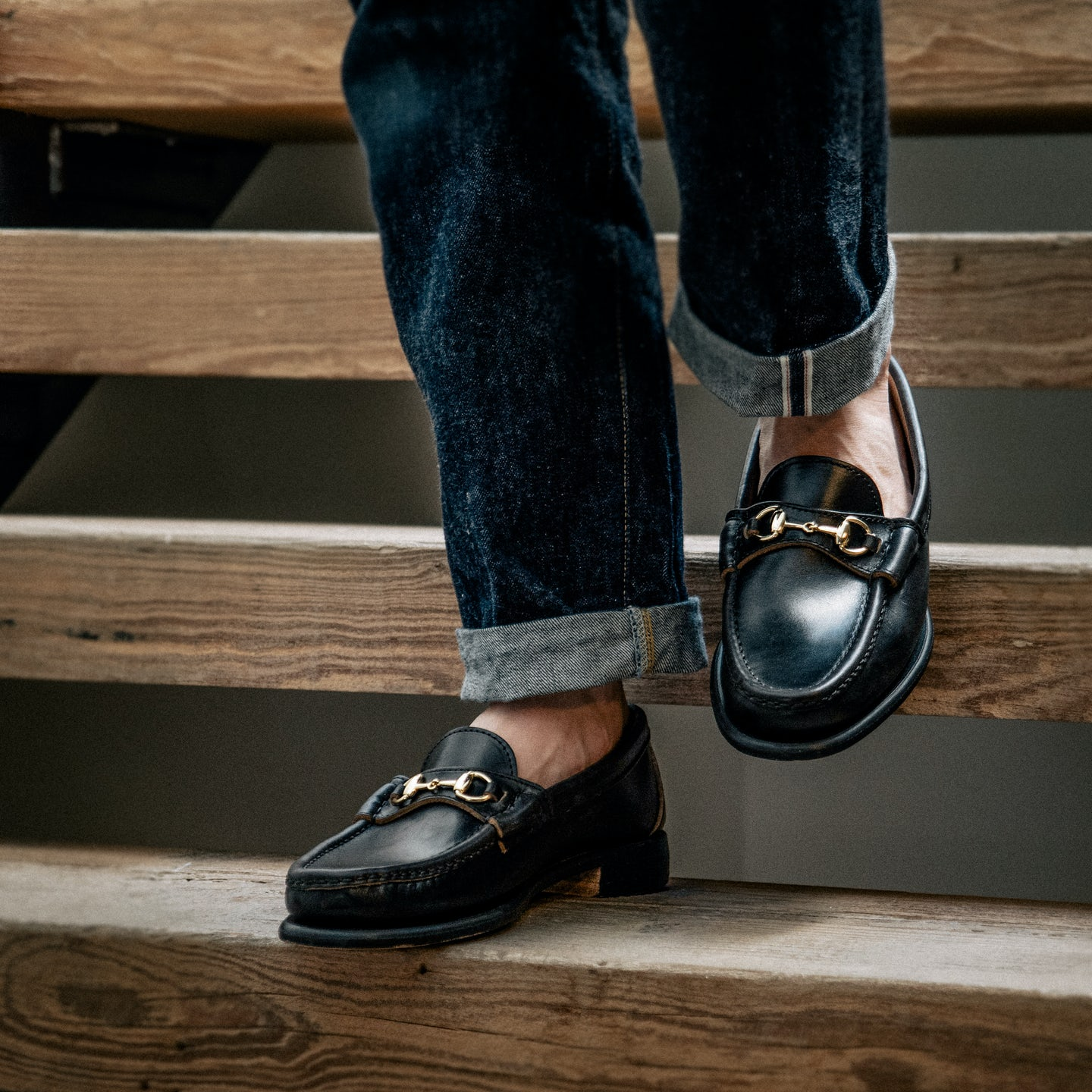 Black Chromexcel Bit Loafer - Feature Image