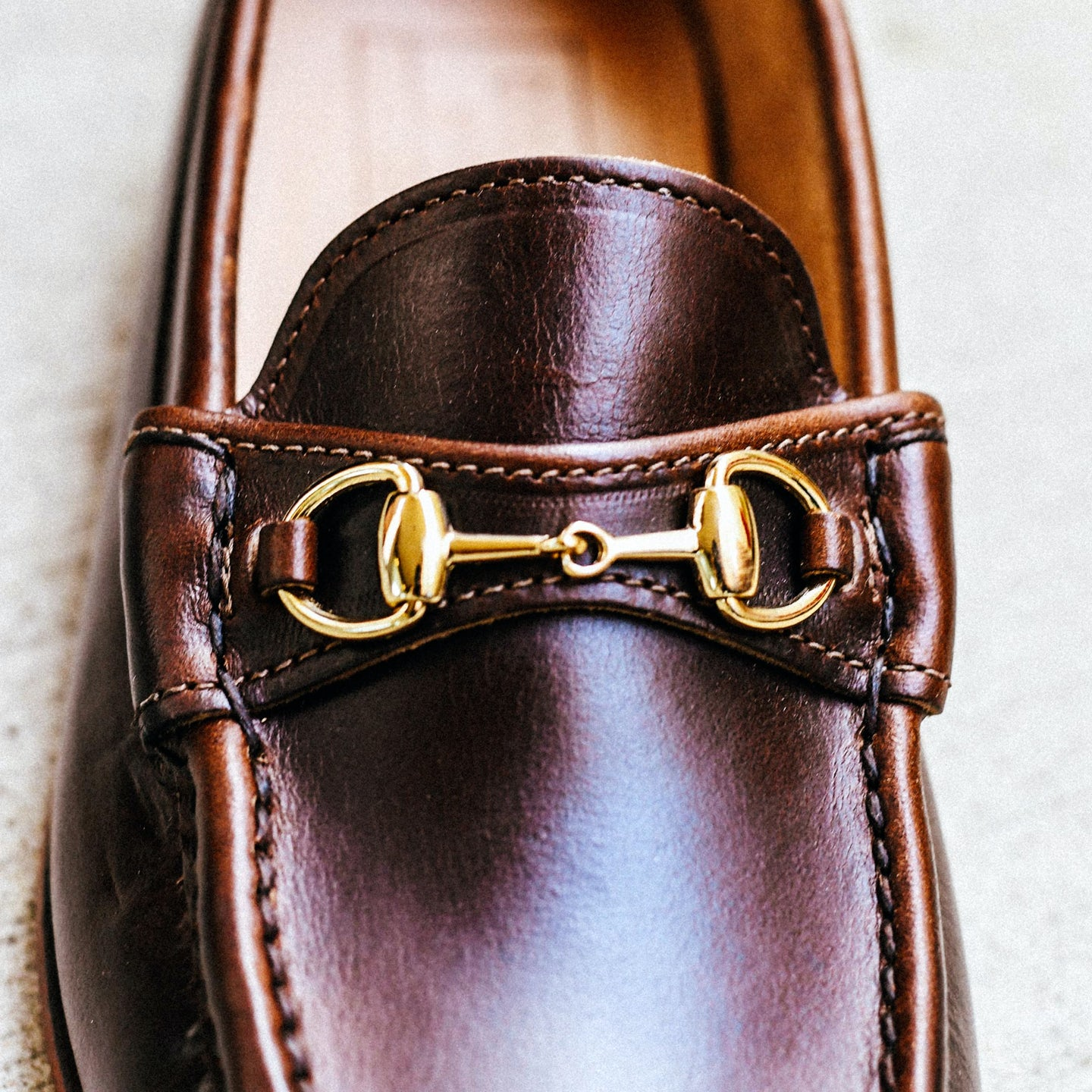 Brown Chromexcel Bit Loafer - Feature Image