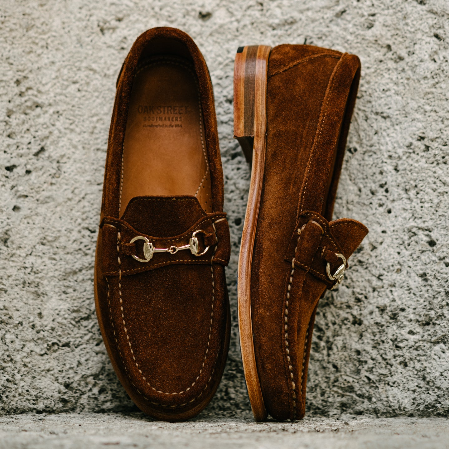 Snuff Repello Suede Bit Loafer - Feature Image