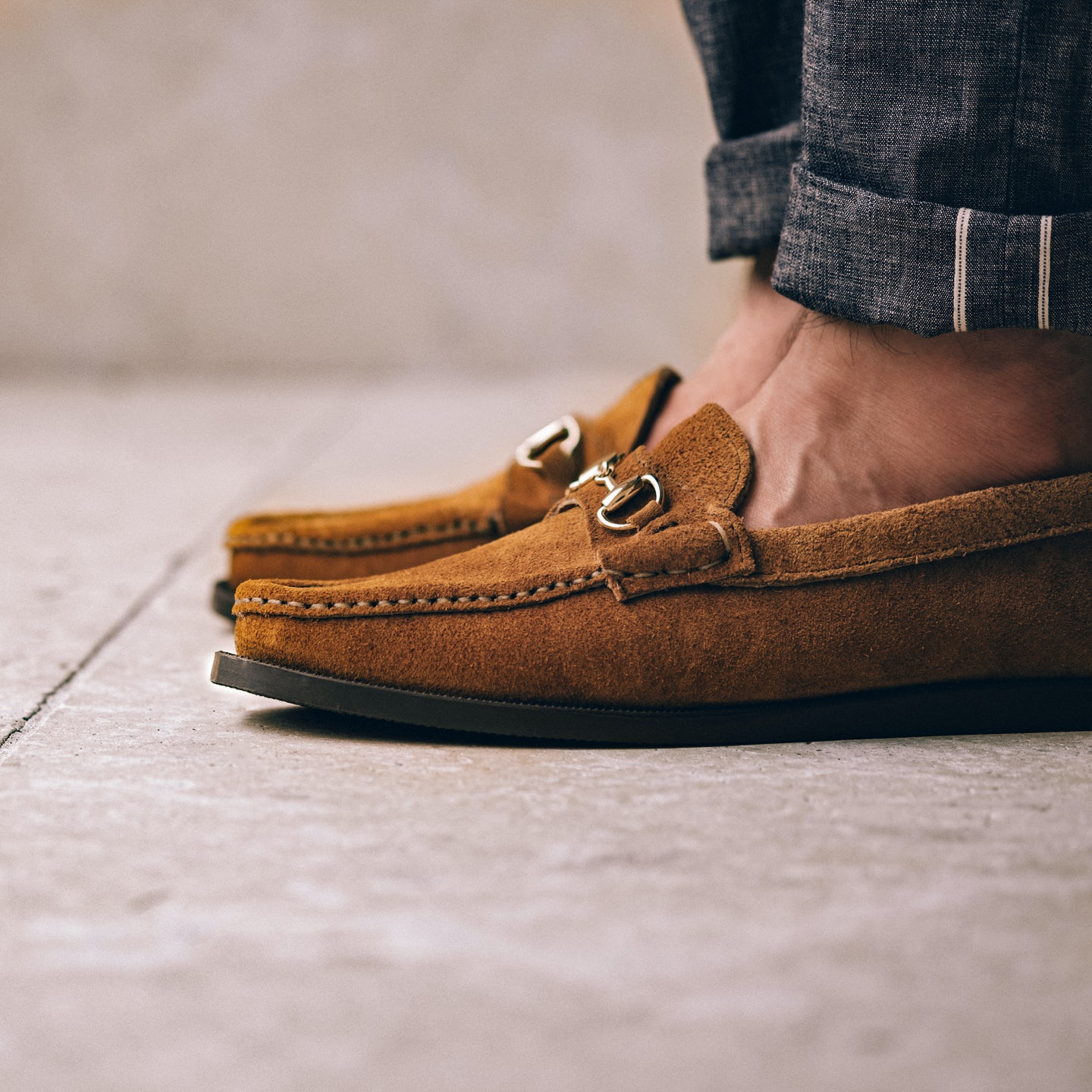 Peanut Orion Suede Bit Moc - Feature Image