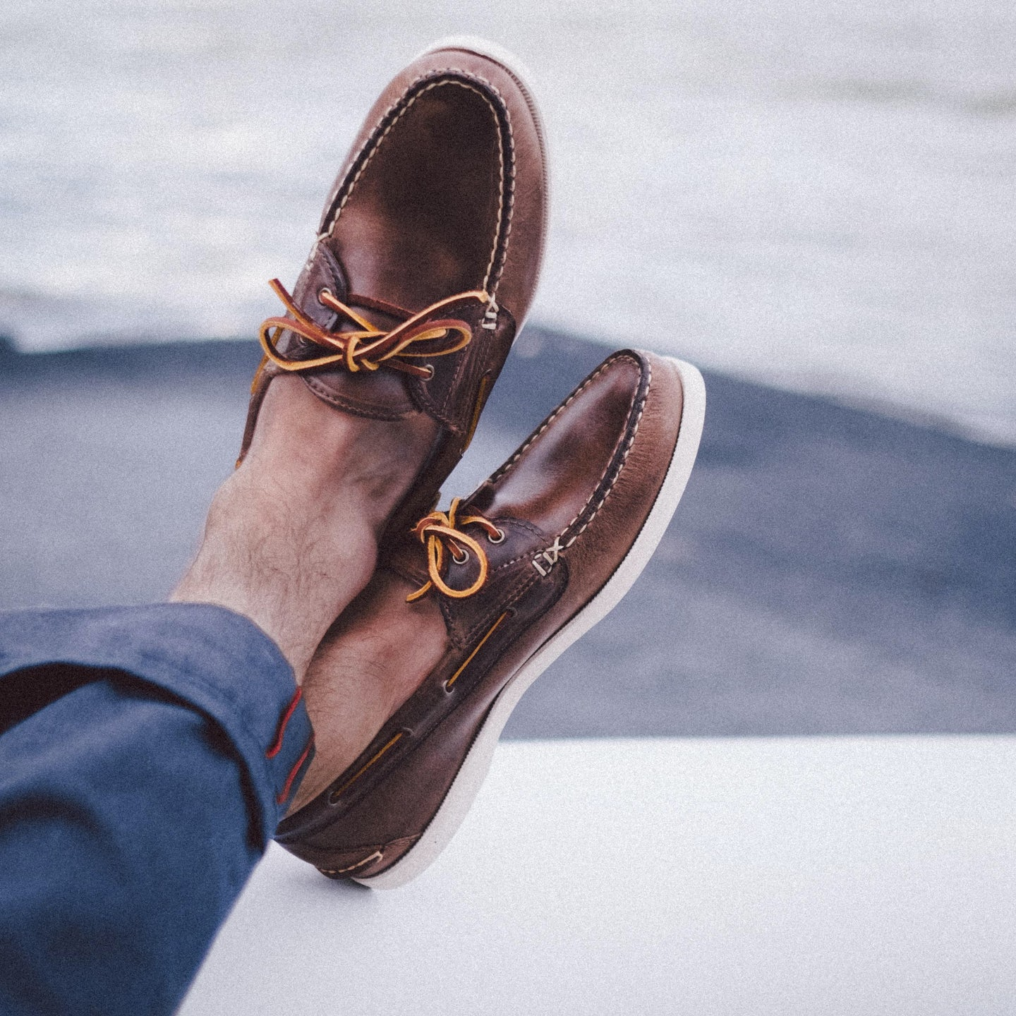 Natural Chromexcel Boat Shoe - Feature Image