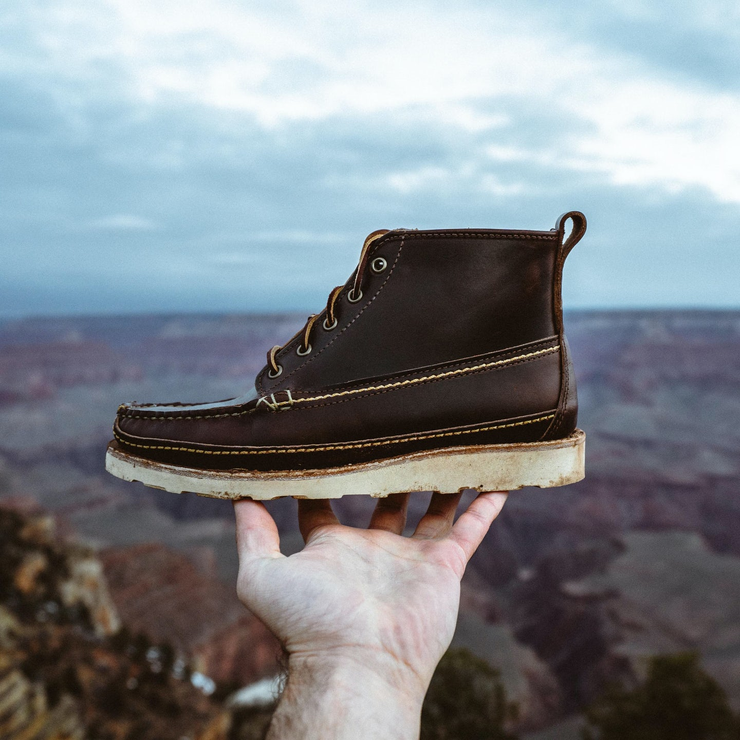 Brown Chromexcel Camp Boot - Feature Image