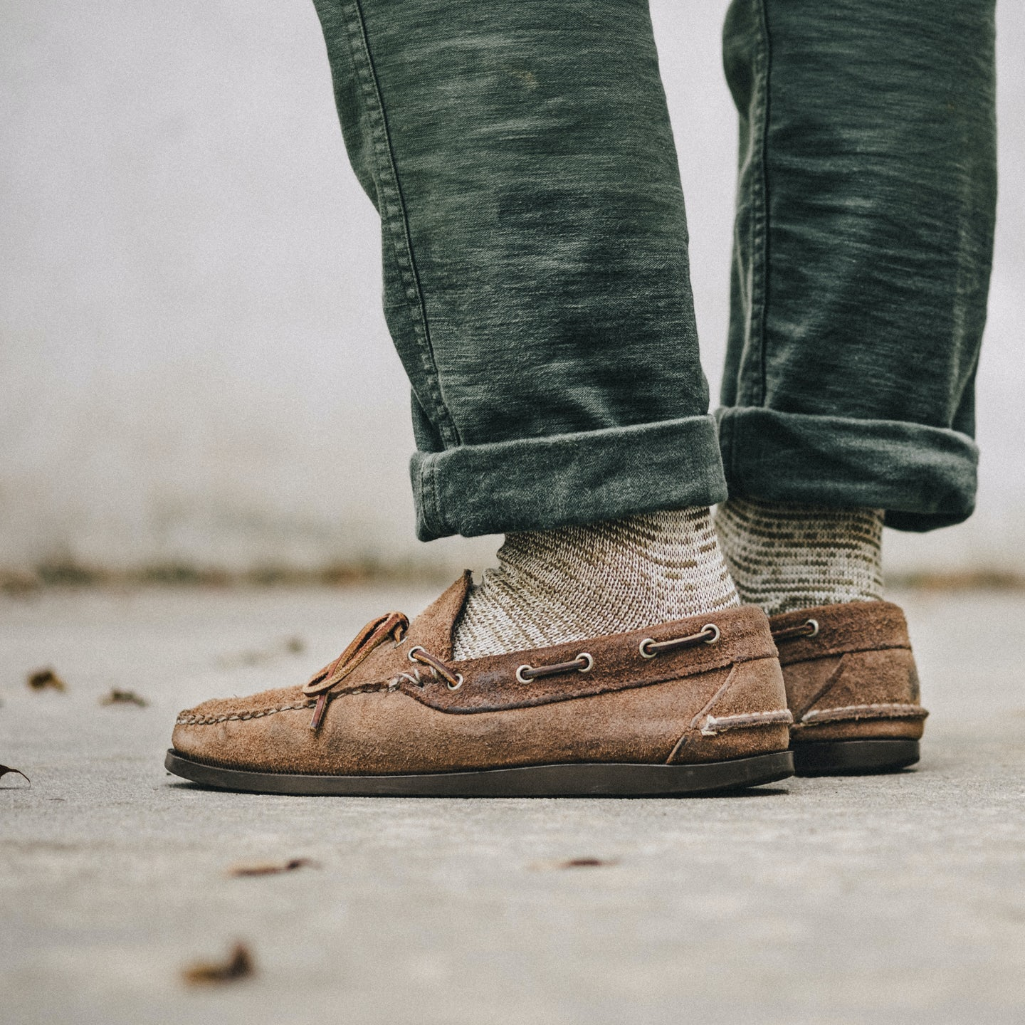 Natural Chromexcel Roughout Camp Moc - Feature Image