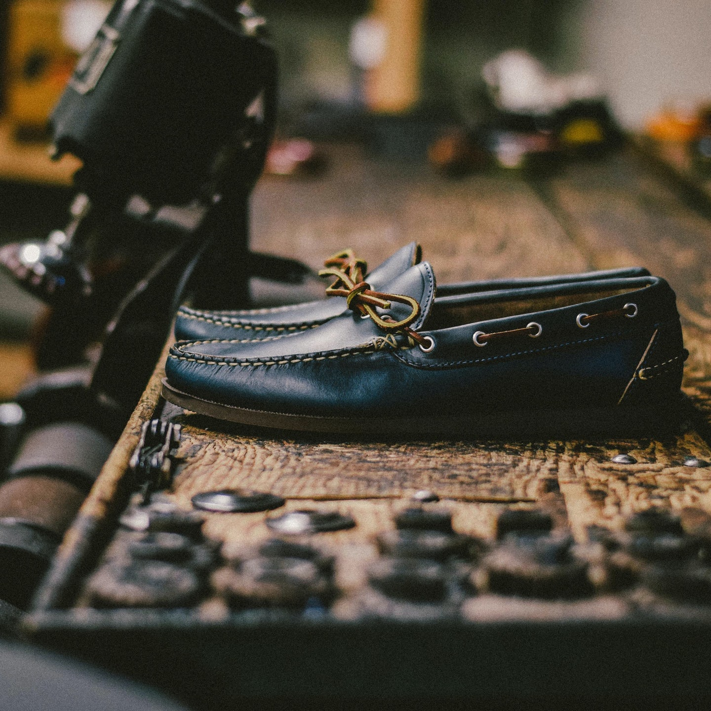 Navy Chromexcel Camp Moc - Feature Image