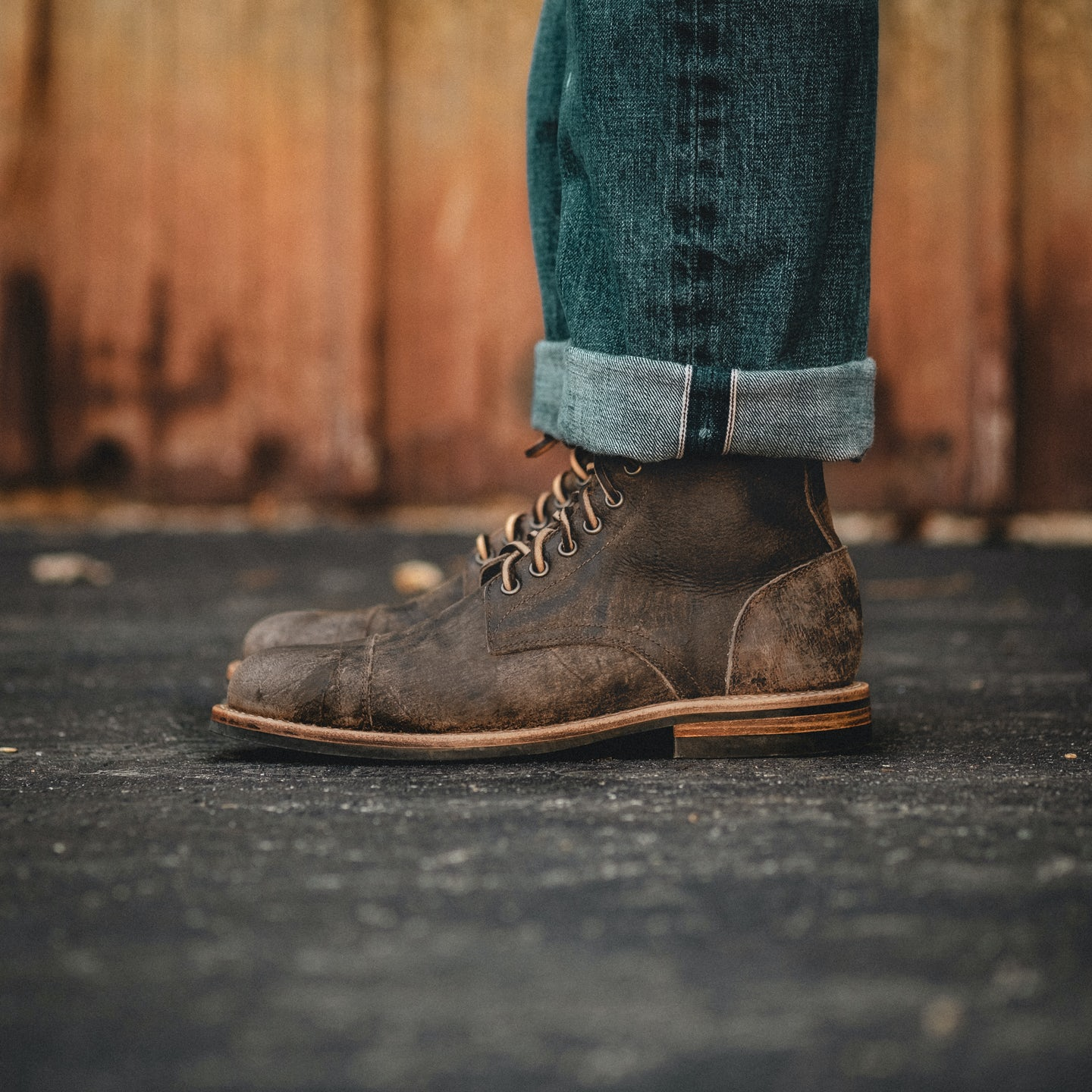 Stone Rambler Cap-Toe Trench Boot - Feature Image