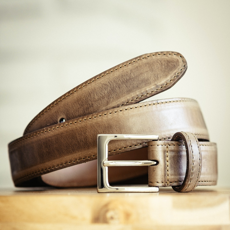Natural Chromexcel Dress Belt - Feature Image