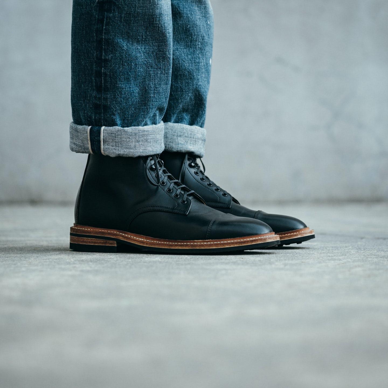 Black Chromexcel Lakeshore Boot - Feature Image