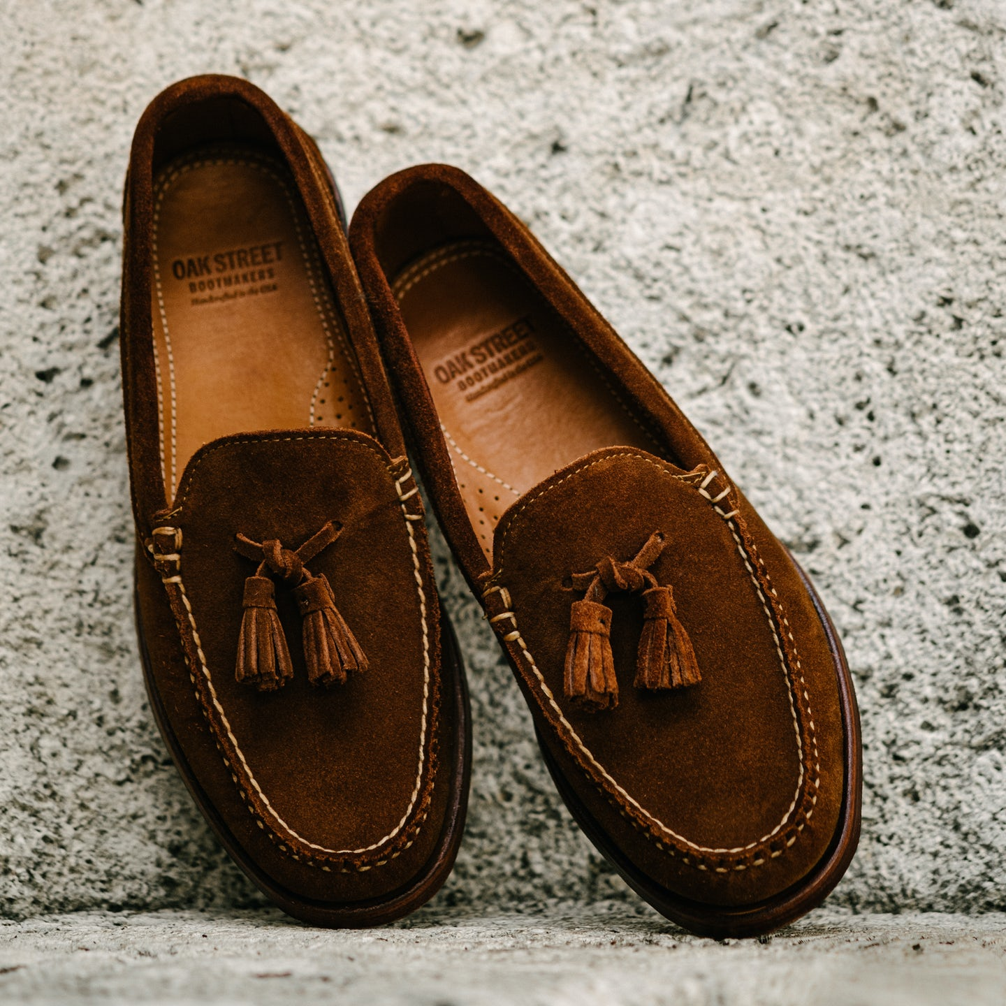 Snuff Repello Suede Tassel Loafer - Feature Image