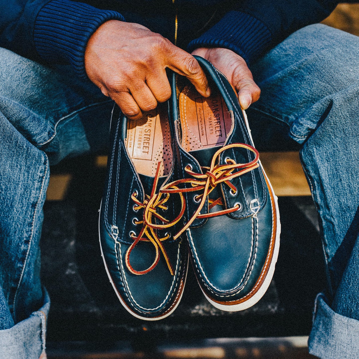 Navy Chromexcel Trail Oxford - Feature Image