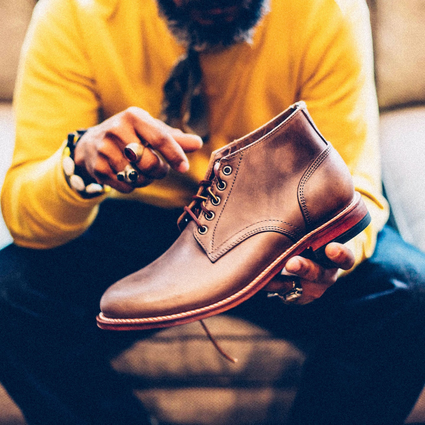 Natural Chromexcel Trench Chukka - Feature Image