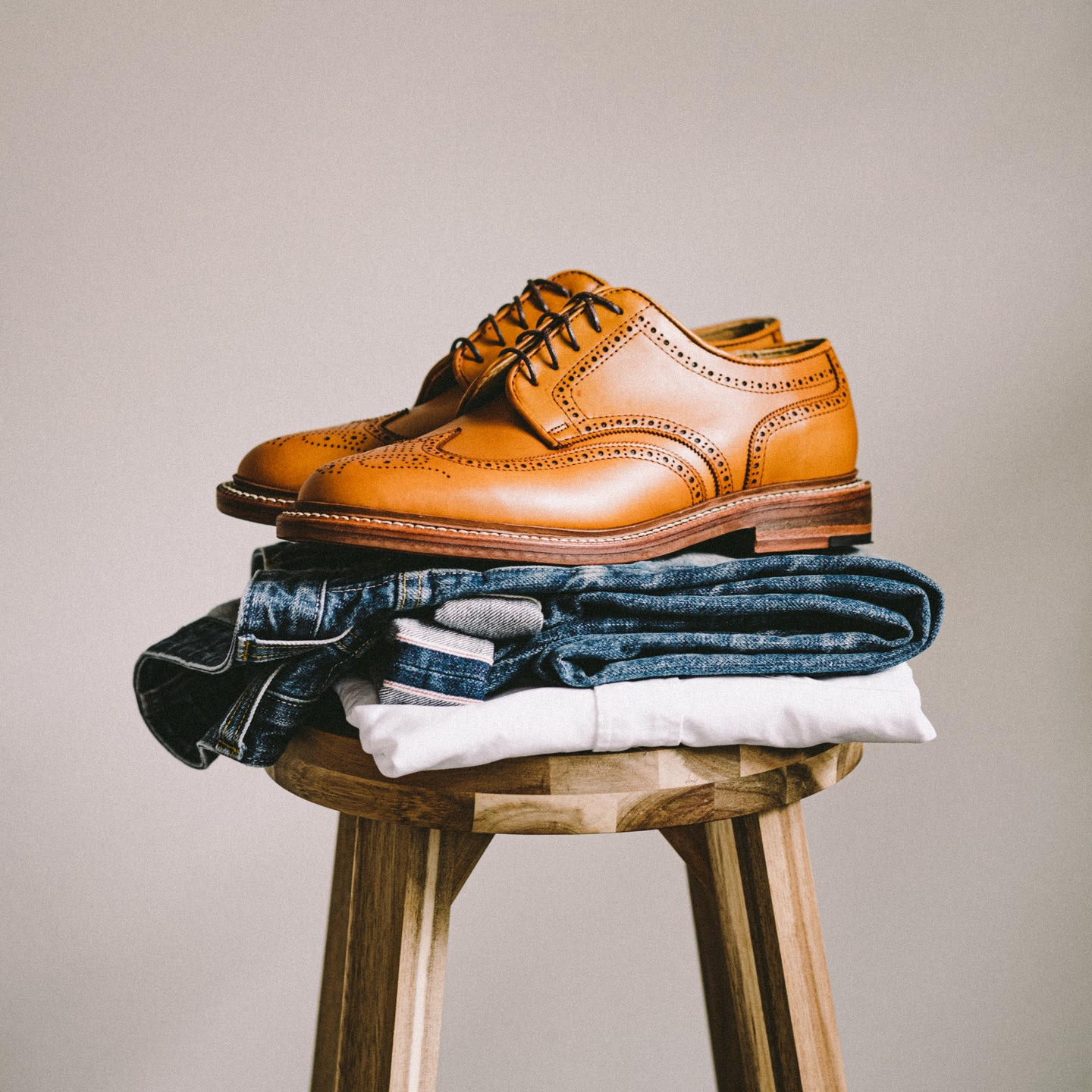 Bourbon French Calf Wingtip - Feature Image