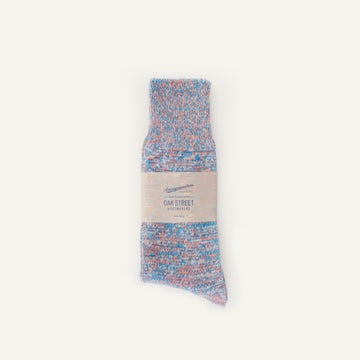 Anonymous ISM Crew Sock - Coral