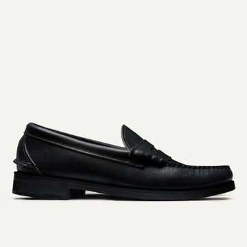 Beefroll Penny Loafer - Black Chromexcel