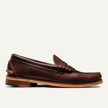Beefroll Penny Loafer - Brown Chromexcel