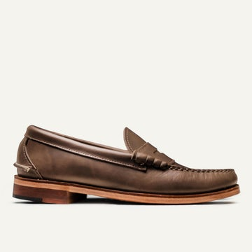 Beefroll Penny Loafer - Natural Chromexcel