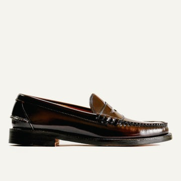 Beefroll Penny Loafer - Oxblood Espresso