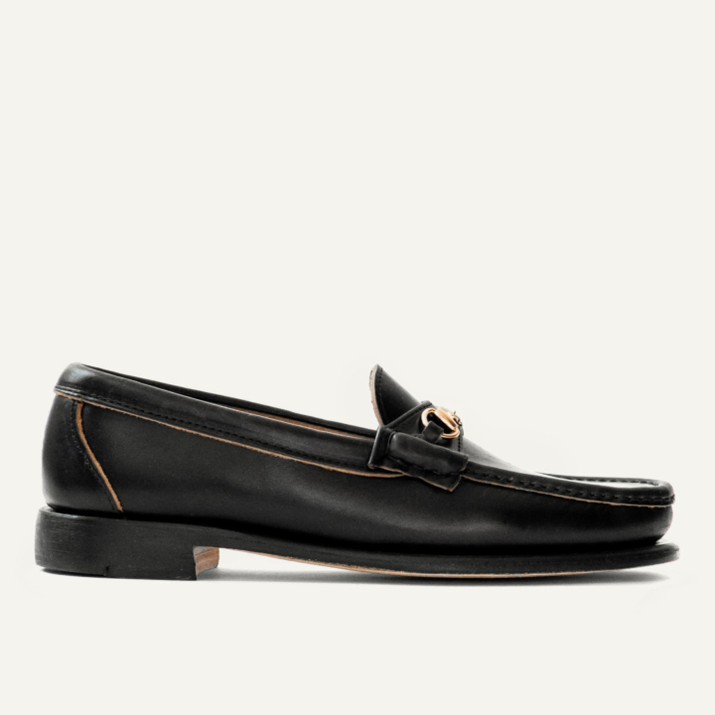 Bit Loafer in Black Chromexcel, Leather Sole with Dovetail Toplift - Made in 