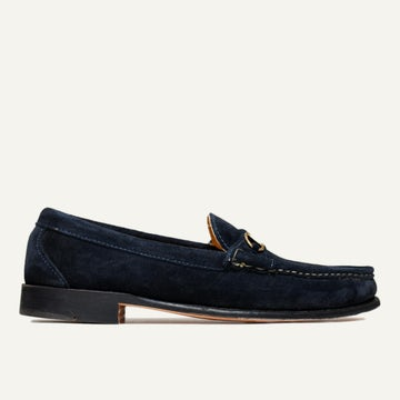 Bit Loafer - Navy Janus Suede