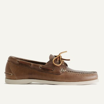 Boat Shoe - Natural Chromexcel