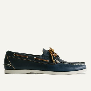 Boat Shoe - Navy Chromexcel