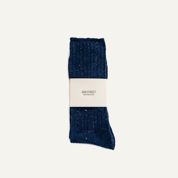 Camp Sock - Indigo Knit