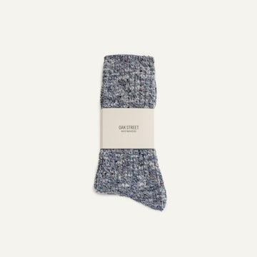Camp Sock - Washed Indigo Knit