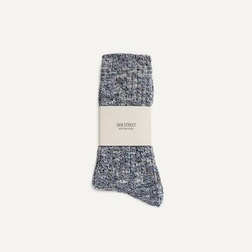 Camp Sock - Navy Knit