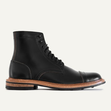 Cap-Toe Trench Boot - Black Chromexcel