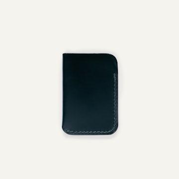 Card Wallet - Black Chromexcel