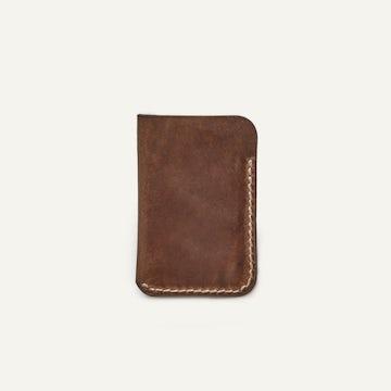 Card Wallet - Natural Chromexcel