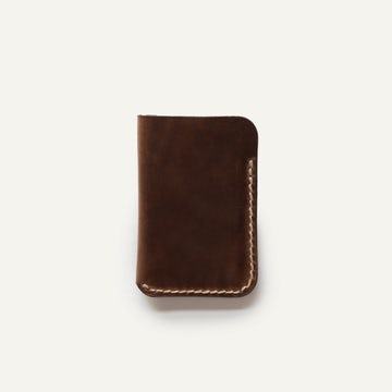 Card Wallet - Natural Chromexcel