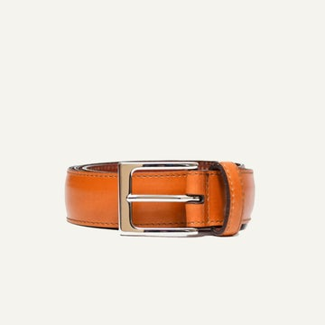 Dress Belt - Bourbon French Calf