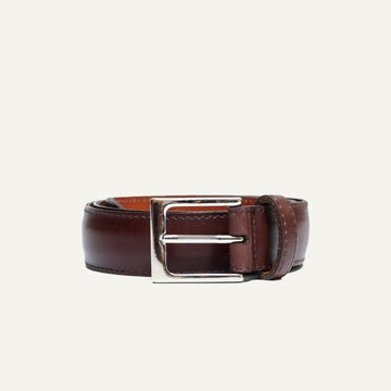 Dress Belt - Chocolate French Calf