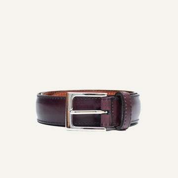 Dress Belt - Oxblood French Calf