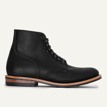 Field Boot - Black Oil Tan