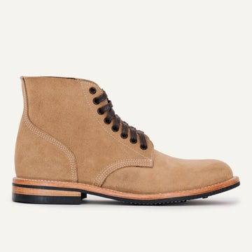 Field Boot - Natural Rough-Out