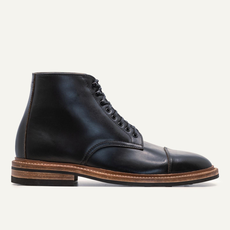 Cap-Toe Lakeshore Boot - Black Chromexcel, Dainite Sole - Made in USA
