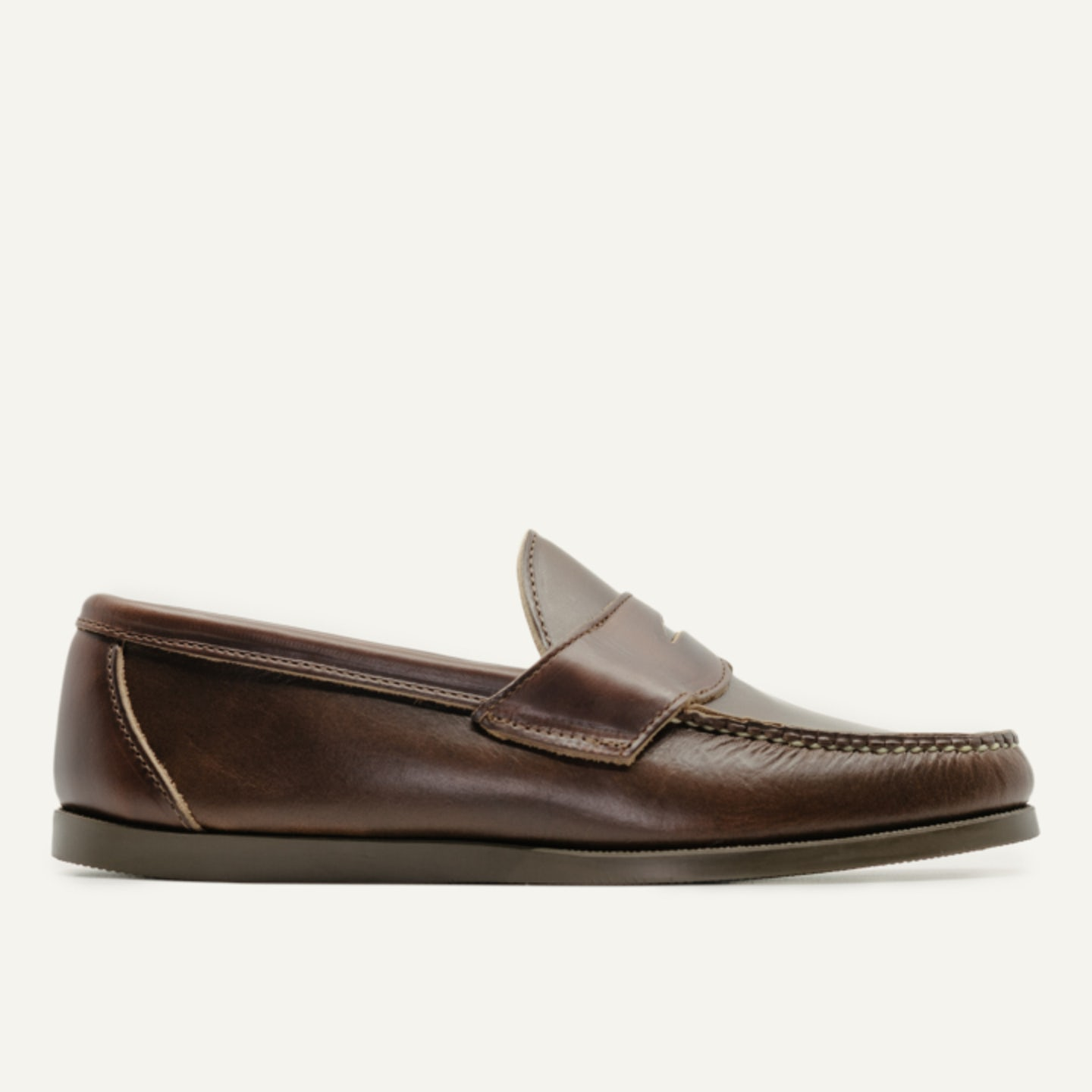Penny Moc - Brown Chromexcel, Camp Sole