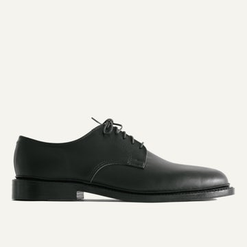 Plain Toe Blucher - Black Chromexcel