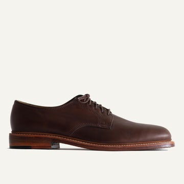 Plain Toe Blucher - Brown Chromexcel
