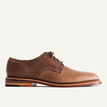 Plain Toe Blucher - Natural Chromexcel