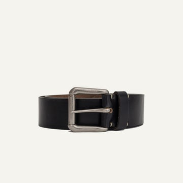 Roller Buckle Belt - Black Chromexcel