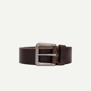 Roller Buckle Belt - Brown Chromexcel